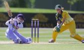 Australia v India at the 2000 CricInfo Women's World Cup, played at the BIL Oval , Lincoln