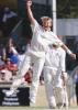 Brett Lee celebrates his five wicket haul as the West Indies go down, The Frank Worrell Trophy, 2000/01, 2nd Test, Australia v West Indies, W.A.C.A. Ground, Perth, 01-05 December 2000 (Day 3).