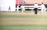 Girilal cuts a delivery from D Ganesh. Ranji Trophy South Zone League 2000/01, Kerala v Karnataka Nehru Stadium, Kochi, 22-25 November 2000