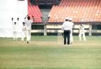 Ganesh appeals against MP Sorab. Ranji Trophy South Zone League 2000/01, Kerala v Karnataka, Nehru Stadium, Kochi, 22-25 November 2000