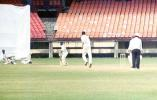 Wicketkeeper VST Naidu drops this chance offered by S Oasis off Prasad. Ranji Trophy South Zone League 2000/01, Kerala v Karnataka, Nehru Stadium, Kochi, 22-25 November 2000