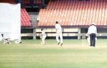 Wicketkeeper VST Naidu drops this chance offered by S Oasis off Prasad. Ranji Trophy South Zone League 2000/01, Kerala v Karnataka, Nehru Stadium, Kochi, 22-25 November 2000