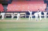 Dharmichand is delighted as his team appeals against Kamaruddin. Ranji Trophy South Zone League 2000/01, Kerala v Karnataka, Nehru Stadium, Kochi, 22-25 November 2000