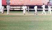 RamPrakash has Prasad caught by Yohannan. Ranji Trophy South Zone League 2000/01, Kerala v Karnataka, Nehru Stadium, Kochi, 22-25 November 2000