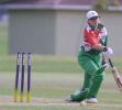Ireland v India at the 2000 Women's World Cup , played at the Hagley Oval ,11th December