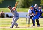 England v Sri Lanka at the 2000 Women's World Cup held at the BIL Oval, Lincoln, New Zealand, 12th December