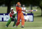 Ireland v The Netherlands at the 2000 Women's World Cup , played at the Hagley Oval ,14th December
