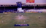 A view of the National Stadium, Karachi during day 5, 3rd Test Match, England in Pakistan 2000-01