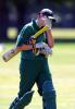 Ireland v South Africa at the 2000 Women's World Cup , played at the Hagley Oval ,16th December