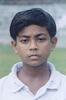 Biswajit Debbarma, Tripura Under-14, Portrait