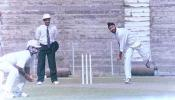 Sukhbinder Singh of Assam just about to deliver the ball. Ranji Trophy East Zone League, 2000/01, Tripura v Assam, Maharaja Bir Bikram College Stadium, Agartala, 14-16 December 2000.