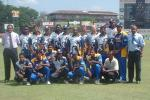 1st Match: Sri Lanka v Zimbabwe at Sinhalees Sports Club in Colombo LG Abans Triangular Series Dec 2001.