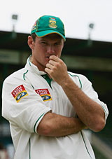 Graeme Smith pondering